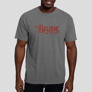BELIEVE [flourish] Mens Comfort Colors Shirt